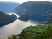 Νορβηγικό Idillia στοκ εικόνες