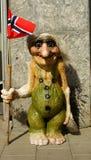 νορβηγικό troll Στοκ Φωτογραφίες