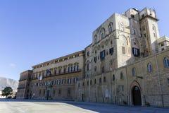 Νορμανδικό παλάτι Στοκ Εικόνα
