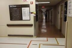 νοσοκομείο διαδρόμων Στοκ φωτογραφίες με δικαίωμα ελεύθερης χρήσης