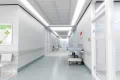 νοσοκομείο διαδρόμων Στοκ Φωτογραφίες