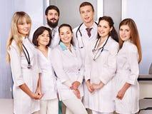 νοσοκομείο ομάδας γιατρών στοκ εικόνα με δικαίωμα ελεύθερης χρήσης