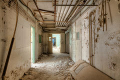 νοσοκομείο παλαιό Στοκ Εικόνες