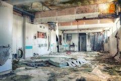 νοσοκομείο παλαιό Στοκ εικόνα με δικαίωμα ελεύθερης χρήσης