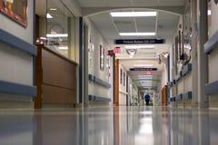 νοσοκομείο διαδρόμων Στοκ Φωτογραφία
