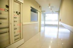 νοσοκομείο διαδρόμων Στοκ φωτογραφία με δικαίωμα ελεύθερης χρήσης