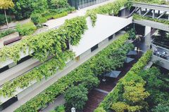 Νοσοκομείο Teck Puat Khoo, Σιγκαπούρη 01 Στοκ Φωτογραφία