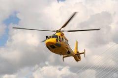 νοσοκομειακό ελικόπτε& Στοκ Εικόνα