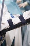 Νοσοκομειακό κρεβάτι στη χειρουργική επέμβαση Στοκ φωτογραφία με δικαίωμα ελεύθερης χρήσης