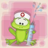 Νοσοκόμα βατράχων απεικόνιση αποθεμάτων