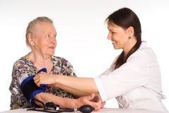 νοσοκόμα γιαγιάδων Στοκ Φωτογραφίες