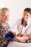νοσοκόμα γιαγιάδων Στοκ Εικόνα