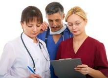 νοσοκόμα γιατρών Στοκ εικόνα με δικαίωμα ελεύθερης χρήσης