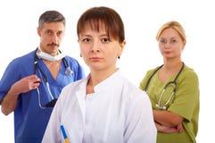 νοσοκόμα δύο γιατρών Στοκ φωτογραφίες με δικαίωμα ελεύθερης χρήσης