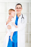 νοσοκόμα παιδιατρική Στοκ φωτογραφία με δικαίωμα ελεύθερης χρήσης