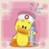 Νοσοκόμα παπιών ελεύθερη απεικόνιση δικαιώματος