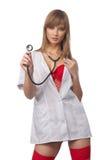 νοσοκόμα προκλητική Στοκ Εικόνα