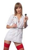 νοσοκόμα προκλητική Στοκ Εικόνες