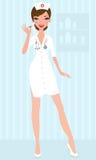 νοσοκόμα προκλητική ελεύθερη απεικόνιση δικαιώματος