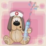 Νοσοκόμα σκυλιών απεικόνιση αποθεμάτων