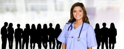 Νοσοκόμα στο νοσοκομείο Στοκ φωτογραφίες με δικαίωμα ελεύθερης χρήσης