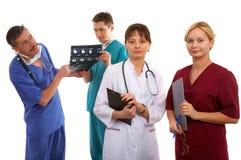 νοσοκόμα τρία γιατρών Στοκ φωτογραφίες με δικαίωμα ελεύθερης χρήσης