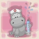 Νοσοκόμα Hippo απεικόνιση αποθεμάτων