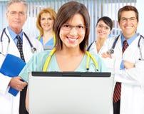 νοσοκόμες γιατρών στοκ φωτογραφία