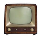 Νοσταλγική παλαιά συσκευή τηλεόρασης Στοκ φωτογραφίες με δικαίωμα ελεύθερης χρήσης