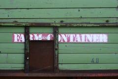 Νοσταλγικό αγροτικό ρυμουλκό Στοκ εικόνα με δικαίωμα ελεύθερης χρήσης