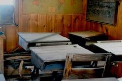 Νοσταλγικό σχολικό δωμάτιο στοκ εικόνες