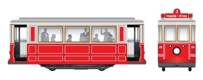 νοσταλγικό τραμ Στοκ Εικόνες