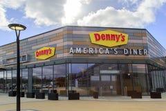 Νοτιαμερικανικός γευματίζων της Denny ` στοκ εικόνα