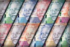 Νοτιοαφρικανικό υπόβαθρο ακρών Στοκ Εικόνες