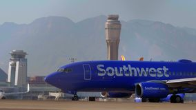 Νοτιοδυτικά αεροσκάφη αερολιμένας McCarran στο Λας Βέγκας - ΗΠΑ 2017 φιλμ μικρού μήκους