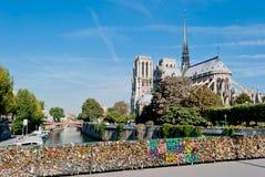 Νοτρ Νταμ, Παρίσι Στοκ φωτογραφία με δικαίωμα ελεύθερης χρήσης