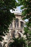 Νοτρ Νταμ στο Παρίσι, Γαλλία Στοκ φωτογραφία με δικαίωμα ελεύθερης χρήσης