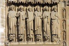 Νοτρ Νταμ de Παρίσι carhedral Στοκ εικόνα με δικαίωμα ελεύθερης χρήσης