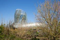 Νουβέλα του Μπορντώ Aquitaine/Γαλλία - 03 28 2019: Αναφέρετε du vin Μπορντώ στη νοτιοδυτική Γαλλία στοκ εικόνες