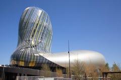 Νουβέλα του Μπορντώ Aquitaine/Γαλλία - 03 28 2019: Αναφέρετε du vin Museum του κρασιού στοκ εικόνες με δικαίωμα ελεύθερης χρήσης