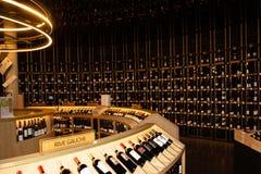 Νουβέλα του Μπορντώ Aquitaine/Γαλλία - 03 28 2019: επισκεμμένος το μουσείο κρασιού αναφέρετε du vin στοκ φωτογραφίες