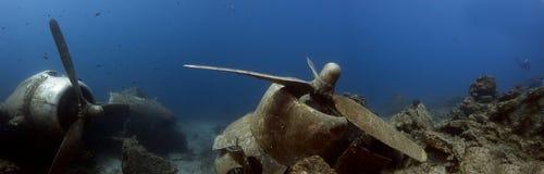 Ντάγκλας Ντακότα DC3 - C47 υποβρύχια συντρίμμια Στοκ φωτογραφίες με δικαίωμα ελεύθερης χρήσης