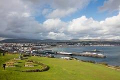 Ντάγκλας Isle of Man Στοκ φωτογραφία με δικαίωμα ελεύθερης χρήσης