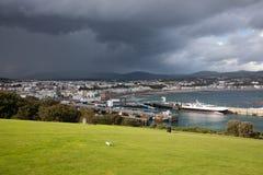 Ντάγκλας Isle of Man Στοκ εικόνα με δικαίωμα ελεύθερης χρήσης