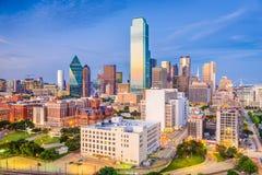 Ντάλλας, Τέξας, ΗΠΑ Dealey Plaza Στοκ εικόνα με δικαίωμα ελεύθερης χρήσης