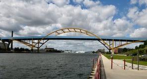 Ντάνιελ Hoan Memorial Bridge στοκ εικόνες με δικαίωμα ελεύθερης χρήσης