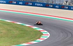 Ντάνιελ Pedrosa στην επίσημη Honda Repsol MotoGP Στοκ Εικόνα
