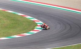 Ντάνιελ Pedrosa στην επίσημη Honda Repsol MotoGP Στοκ φωτογραφία με δικαίωμα ελεύθερης χρήσης