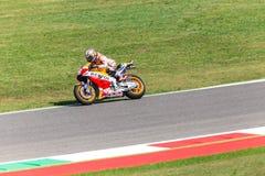 Ντάνιελ Pedrosa στην επίσημη Honda Repsol MotoGP Στοκ Φωτογραφία