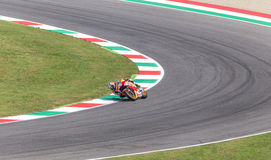 Ντάνιελ Pedrosa στην επίσημη Honda Repsol MotoGP Στοκ Φωτογραφίες
